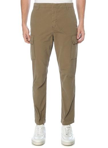 PS by Paul Smith PS Paul Smith  Normal Bel Kanvas Pantolon 101549270 Haki